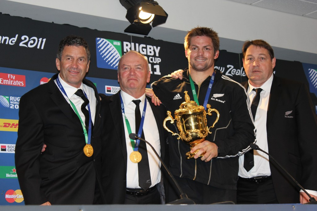 Richie McCaw Graham Henry Steve Hansen Wayne Smith Guillaume Bonnaure