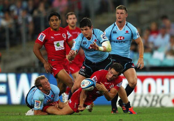 Queensland Reds New South Wales Waratahs Super Rugby Australie