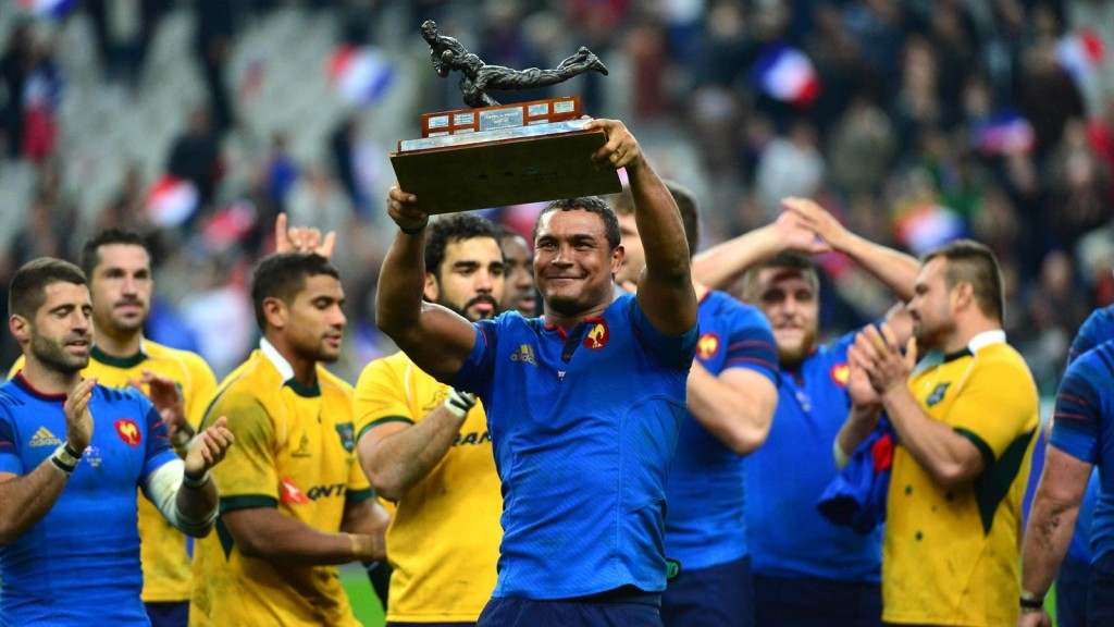 Thierry Dusautoir France Wallabies