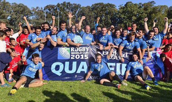 Uruguay is qualified for the 2015 Rugby World Cup after defeating Russia