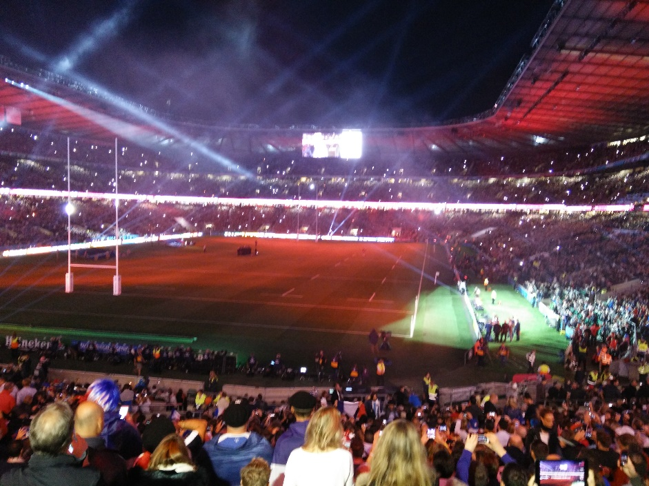 Un Twickenham en ébullition