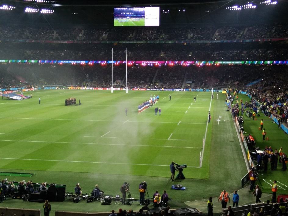Un Twickenham en ébullition.