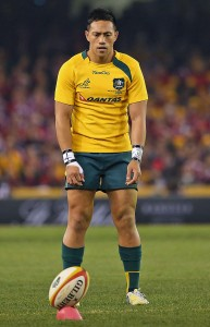 Christian Lealiifano Brumbies Wallabies