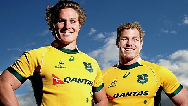 Michael Hooper David Pocock Waratahs Brumbies Wallabies