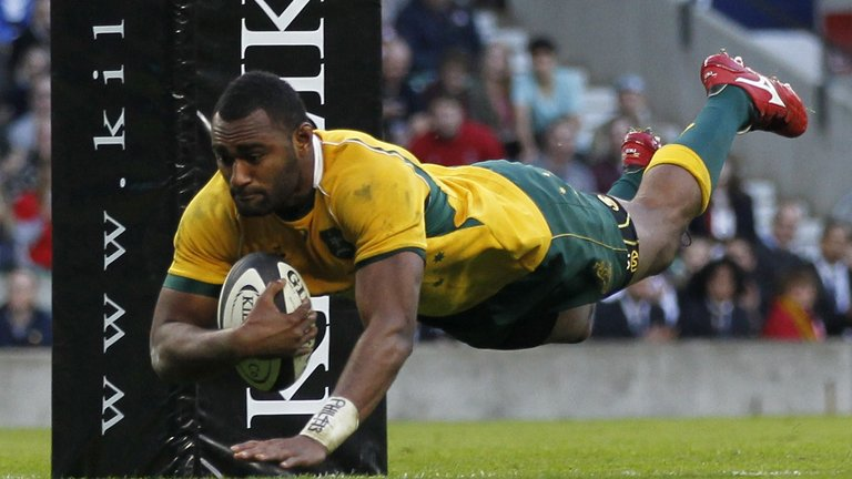 Tevita Kuridrani Brumbies Wallabies