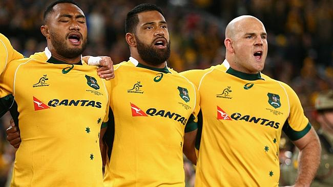Sekope Kepu Scott Sio Stephen Moore Wallabies