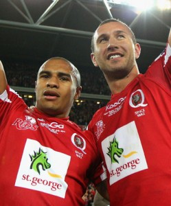Will Genia Quade Cooper Reds Wallabies