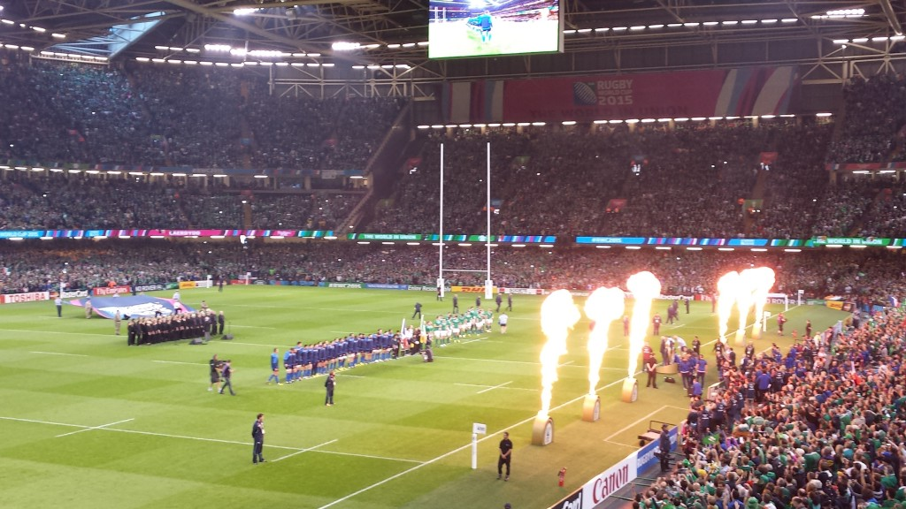 France Ireland Millenium Stadium
