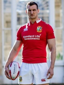 Sam Warburton Lions Wales Captain