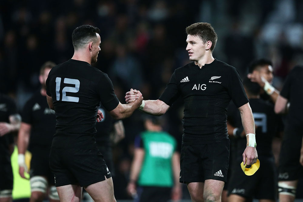 Beauden Barrett Ryan Crotty
